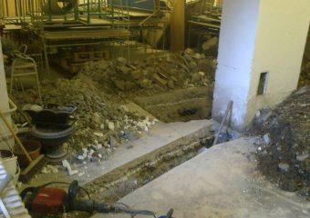 KANALIZÁCIA – VT ZŠ Lúčna vnútorná kanalizácia v triede